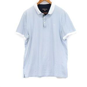Michael Kors MK Mens Soft Short Sleeve Polo Shirt